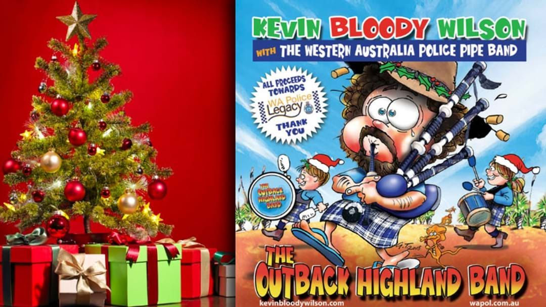 Article heading image for Kevin Bloody Wilson's New Song Is A Christmas Cracker!
