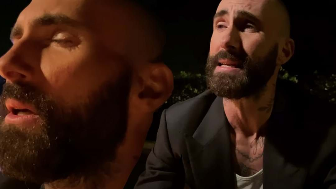 Article heading image for Maroon 5's New Film Clip Is Basically Old Mate Adam Levine Rolling A Joint