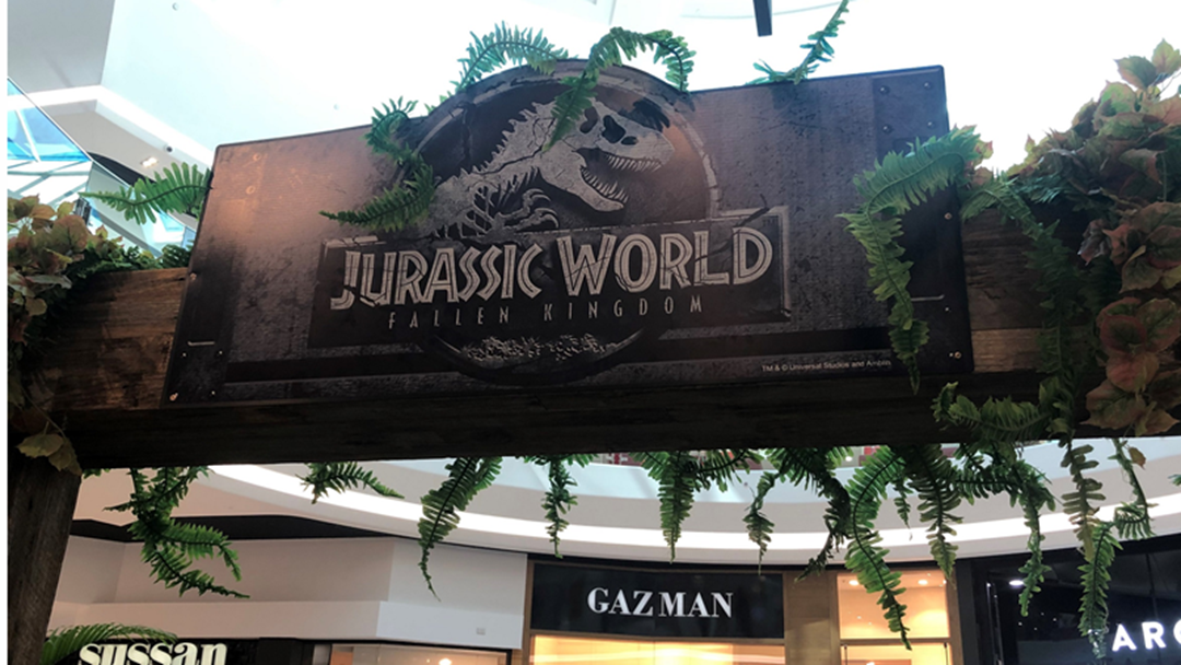 Article heading image for Jurassic World is at Grand Central!