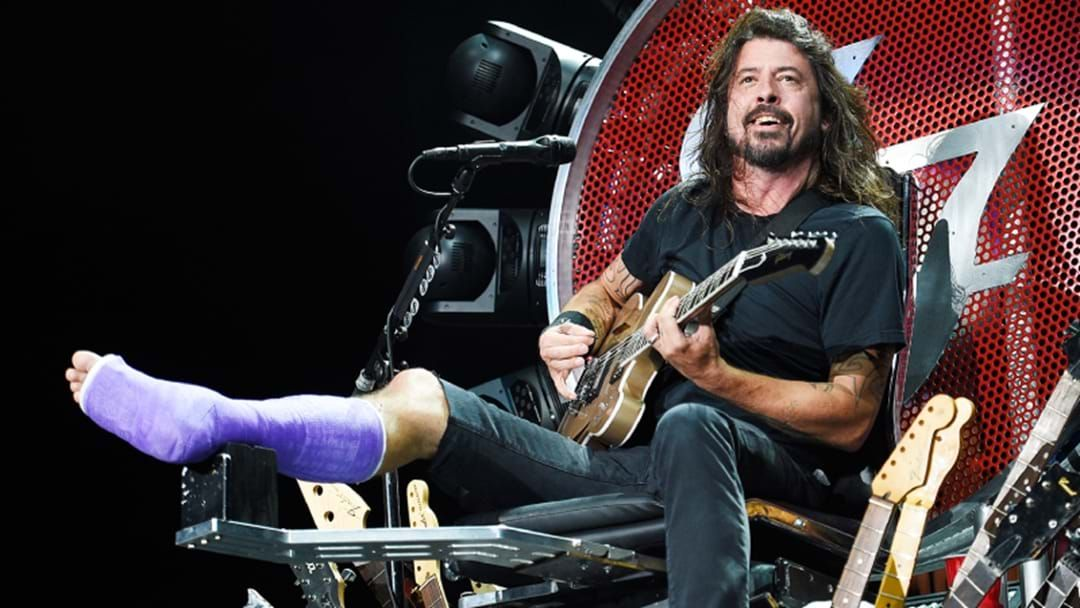 Article heading image for Dave Grohl Has Passed On His Concert Throne