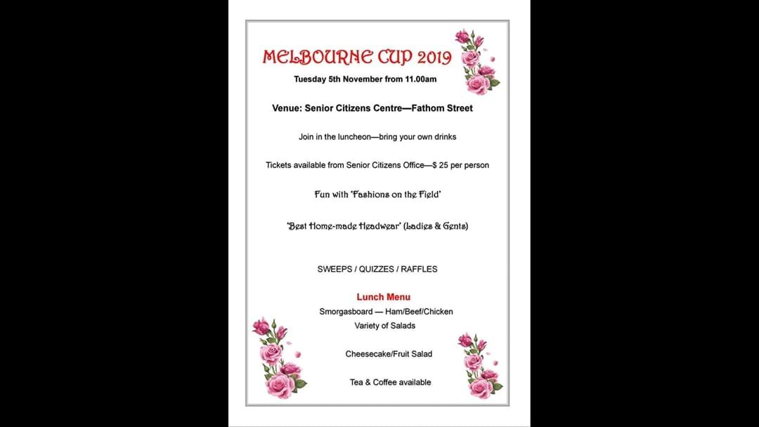 Article heading image for Narrogin Senior Citizens Melbourne Cup Luncheon