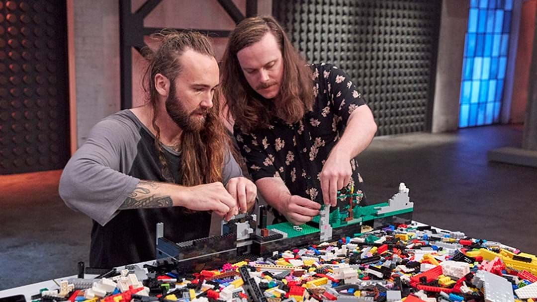 Article heading image for LEGO Masters Winners Jackson & Alex Argue Over How To Split Their $100k
