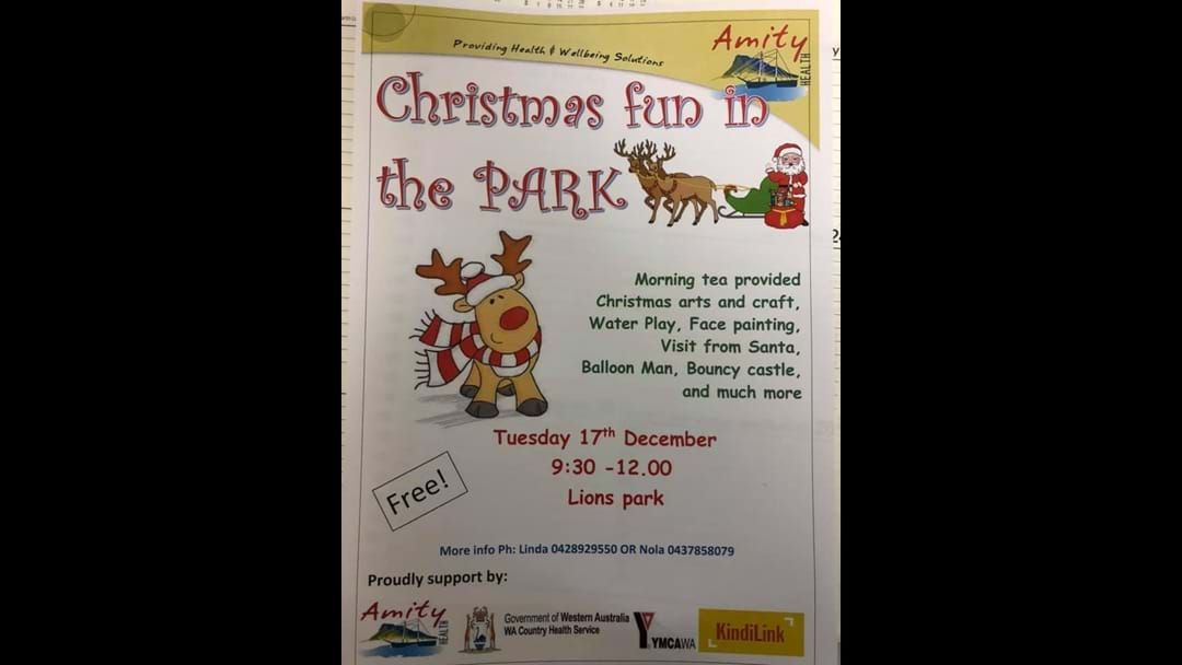 Article heading image for Christmas Fun in the Park