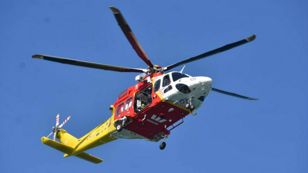 Article heading image for Teenager Rescued from Rocks by Westpac Chopper