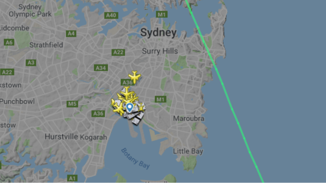 Article heading image for Sydney Airport Control Tower On Lockdown As All Flights Grounded