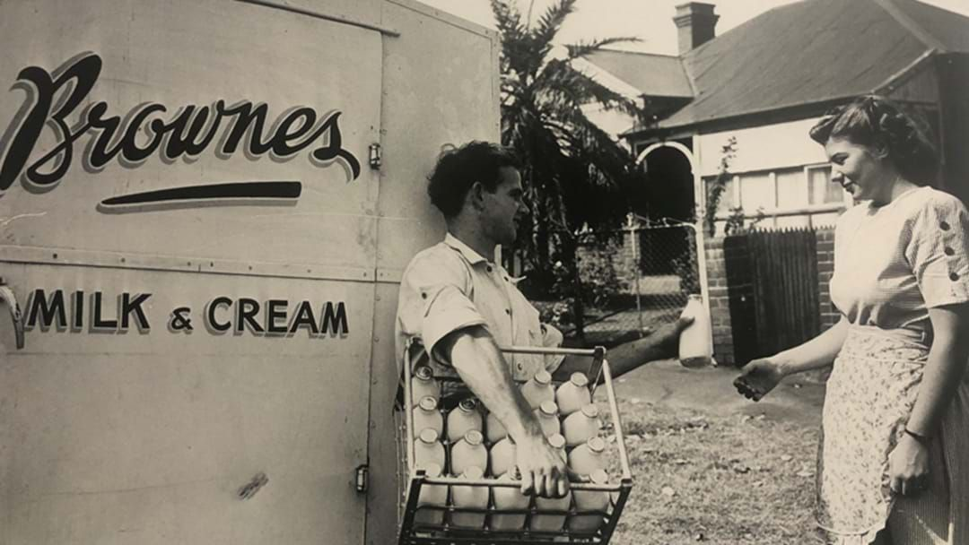 Article heading image for Stone The Crows. The Brownes Milko Is Making A Comeback