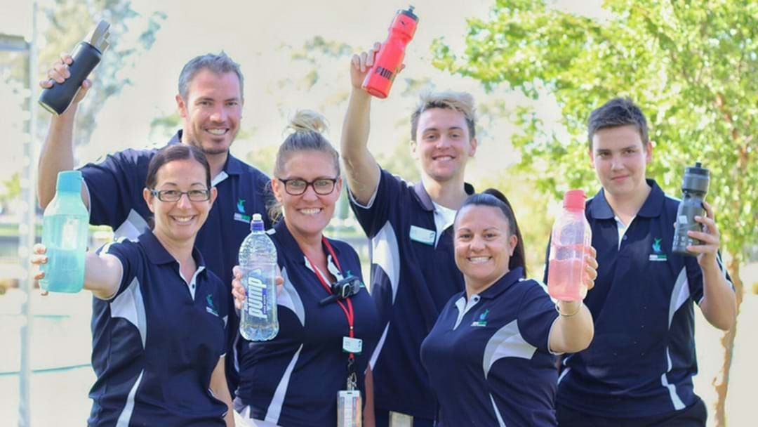 Article heading image for Council Facilities Are Taking Up A Healthy Drink Challenge!
