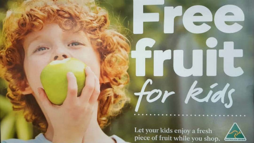 Article heading image for Free Fruit For Your Kids!