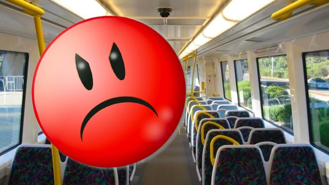 Article heading image for What Perth Really Hates About Riding On Public Transport