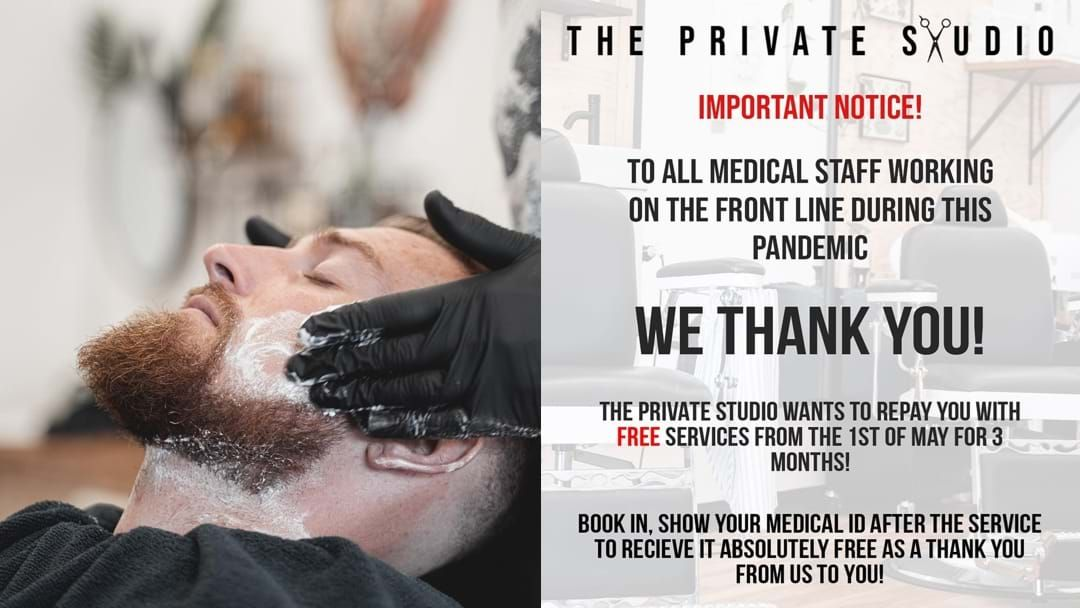 Article heading image for Terrigal Barber Is Doing Free Services For Medical Staff Working On The Frontline
