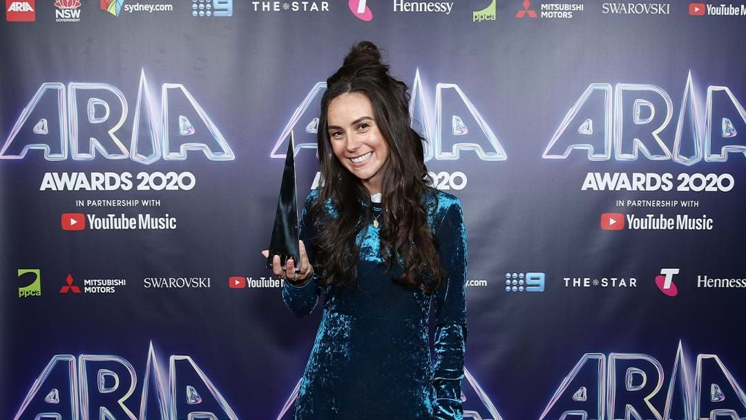 Article heading image for Amy Shark's Grandma Keeps Stealing Her Stuff