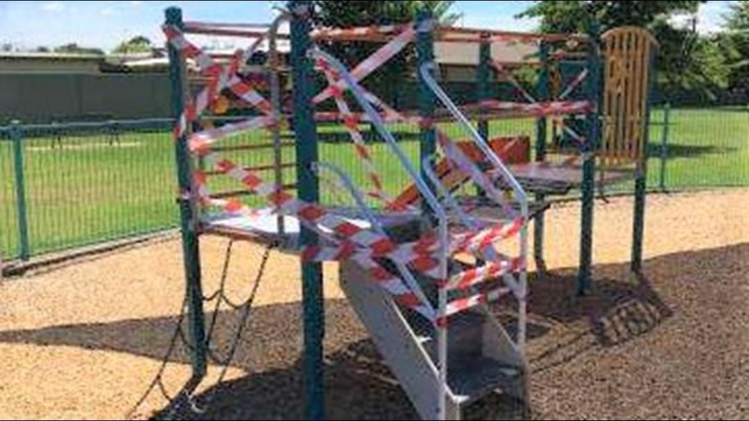 Article heading image for Furphy Park Play Equipment Vandalised
