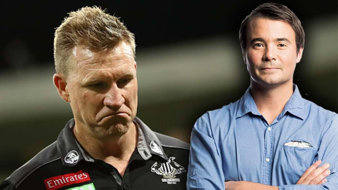 Article heading image for Jay Clark Talks About Nathan Buckley's Contract