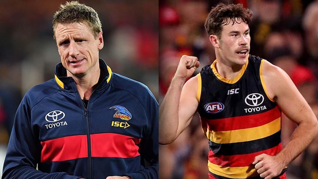 Article heading image for LISTEN   Brett Burton Explains The Latest News From Adelaide's Injury Crisis