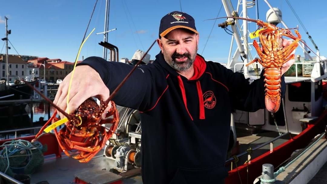 Article heading image for Tasmania's Aussie Lobster Man!