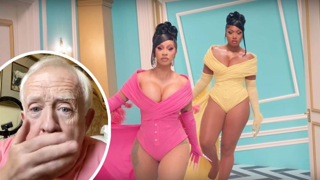 Article heading image for Leslie Jordan's Reaction To Hearing Cardi B's WAP Has Us Squealing