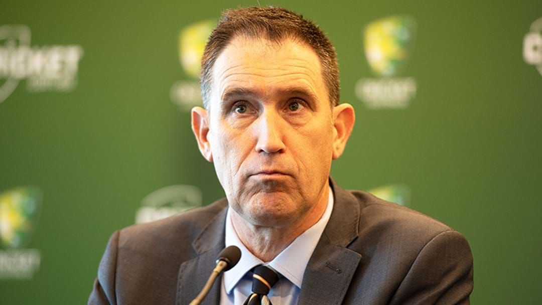 Article heading image for LISTEN | James Sutherland Explains His Decision To Resign From Cricket Australia