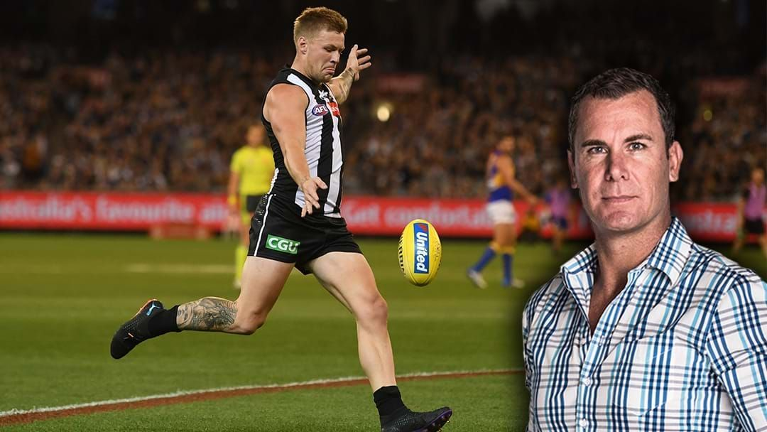 Article heading image for LISTEN | Jordan De Goey Didn't Recognise Wayne Carey