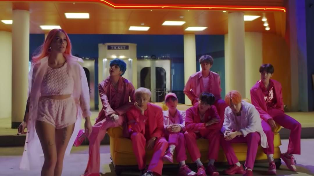 Article heading image for BTS & Halsey's Video For Boy With Luv Is All Sorts Of K-Pop Brilliance