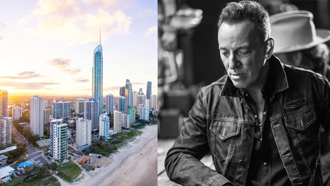 Article heading image for The Mayor Is Attempting To Bribe Bruce Springsteen To Move To The Gold Coast