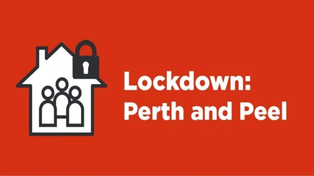 Article heading image for Perth & Peel Thrust Into Lockdown As Third Person Tests Positive
