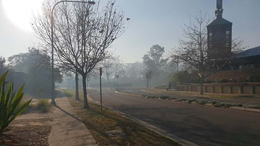 Article heading image for Holsworthy Residents Wake Up To Thick Smoke As Firies Work To Contain Bush Fire