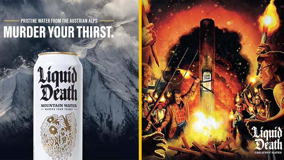 Article heading image for A Bottled Water Company Turned The Angry Comments On Its Facebook Into A Death Metal Album