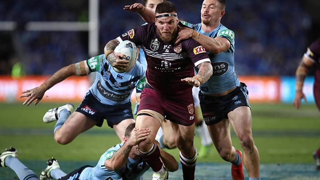Article heading image for 'Shattered' McGuire Describes Moment He Found Out He'd Been Dumped from Origin via Social Media
