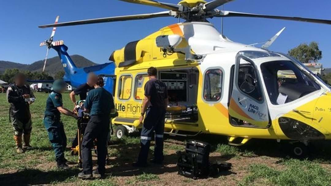 Article heading image for Two Airlifted to Toowoomba Hospital after Dirt Bike Accidents