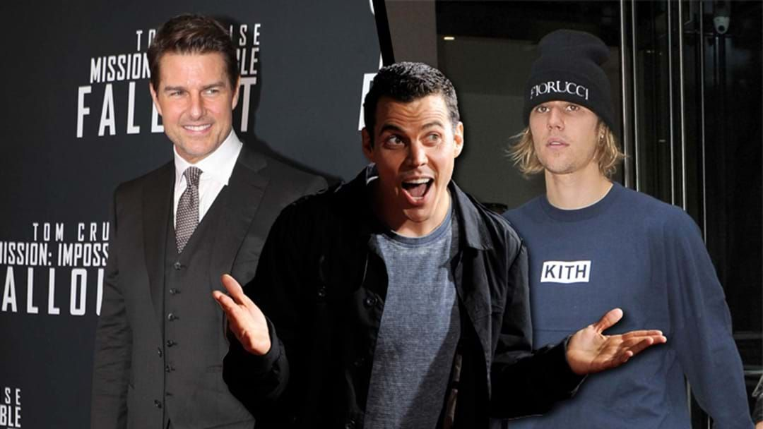 "Article heading image for In An Update To That Justin Bieber V Tom Cruise Fight, ""Jackass"" Star Steve-O Is Now Getting Involved"