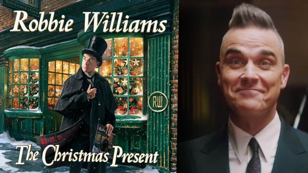 Article heading image for Robbie Williams Announces Xmas Album So Festive Friends, Let's Start Christmas Now