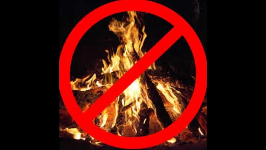 Article heading image for Friday Fire Ban