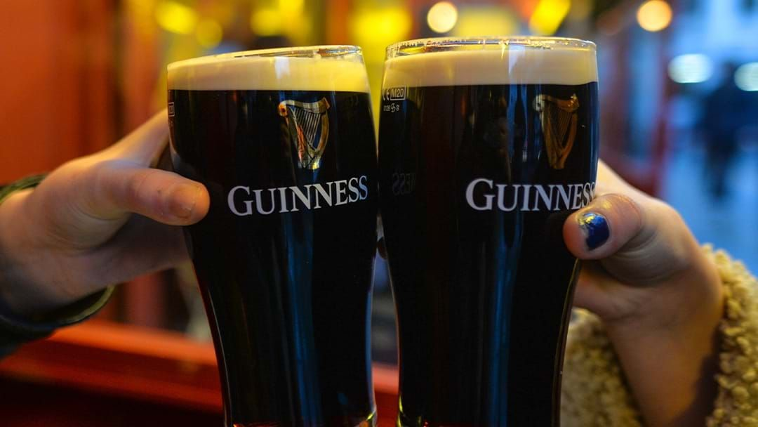 Article heading image for Guinness Has To Brew 25 Pints Per Second To Keep Up With Demand
