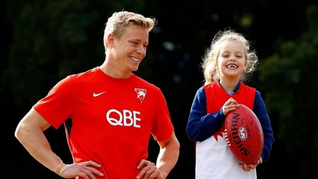 Article heading image for Swans Star's Heartwarming Gesture To Young Fan