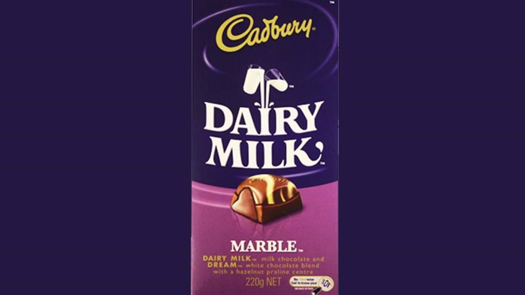 Article heading image for It's Official, Cadbury's Marble Chocolate Is Coming Back To Aus