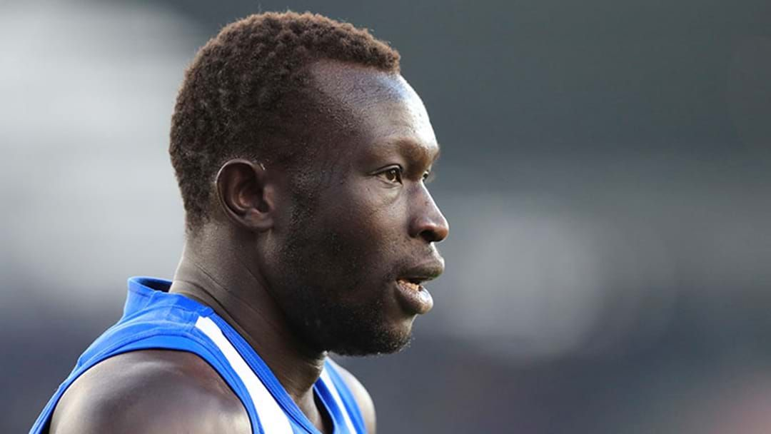 Article heading image for North Melbourne Have Released A Statement On Majak Daw