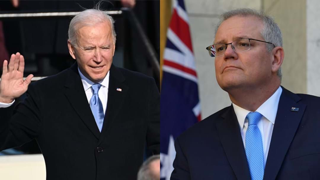 Article heading image for PM Scott Morrison Delivers His Thoughts On Joe Biden's Presidency