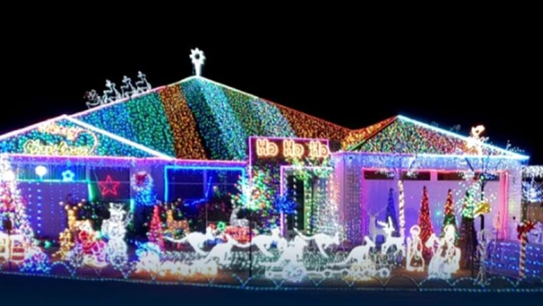 Article heading image for Don't Spend All Weekend Looking For Perth's Best Christmas Lights... Locations Right Here