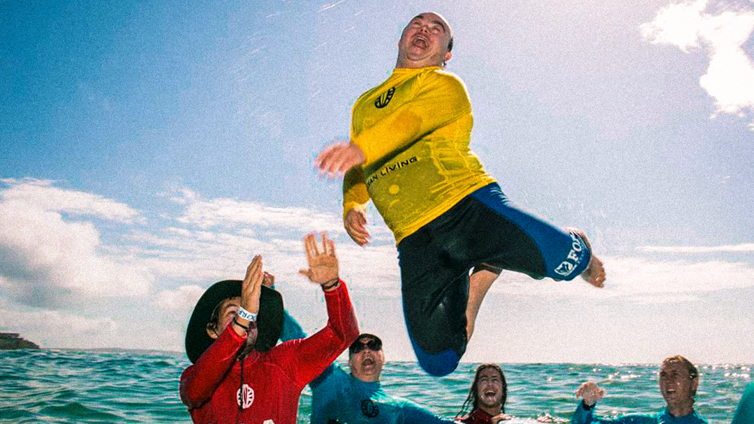 Article heading image for Disabled Surfing Experience At Toowoon Bay Beach!