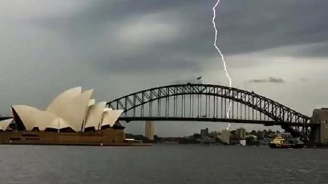 Article heading image for Storm Warning Issued For Western Sydney