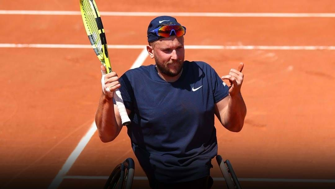 Article heading image for Dylan Alcott Secures Third Straight Roland-Garros Title