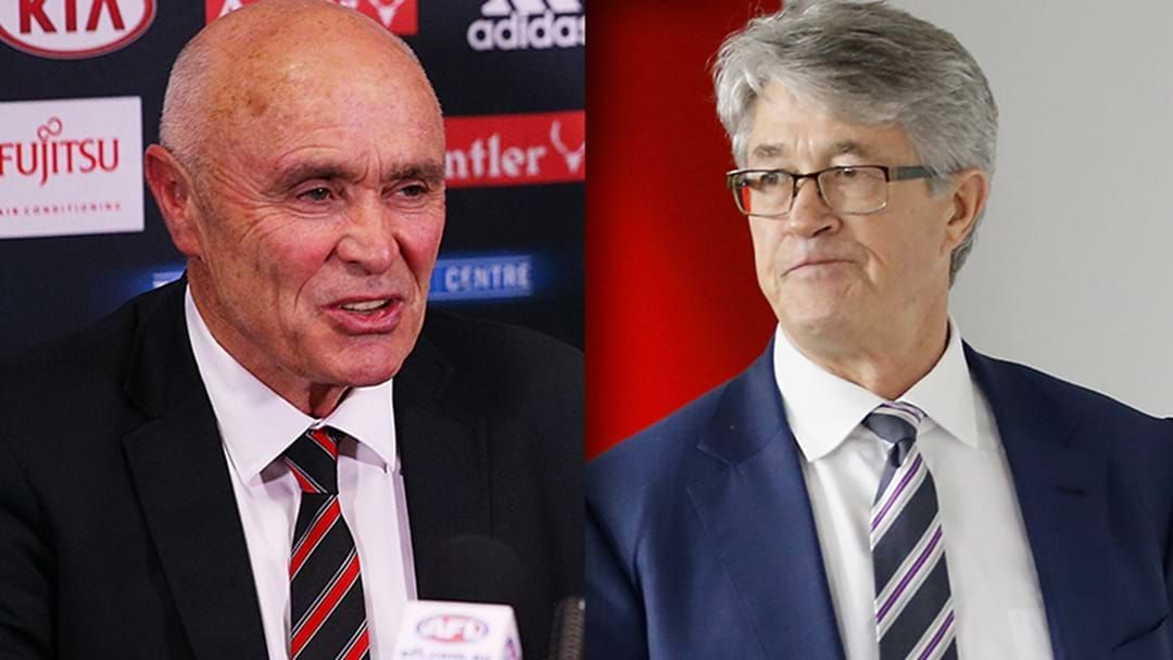 Article heading image for LISTEN | Former Bombers Chairman Paul Little Responds To Mike Fitzpatrick's Drug Saga Comments