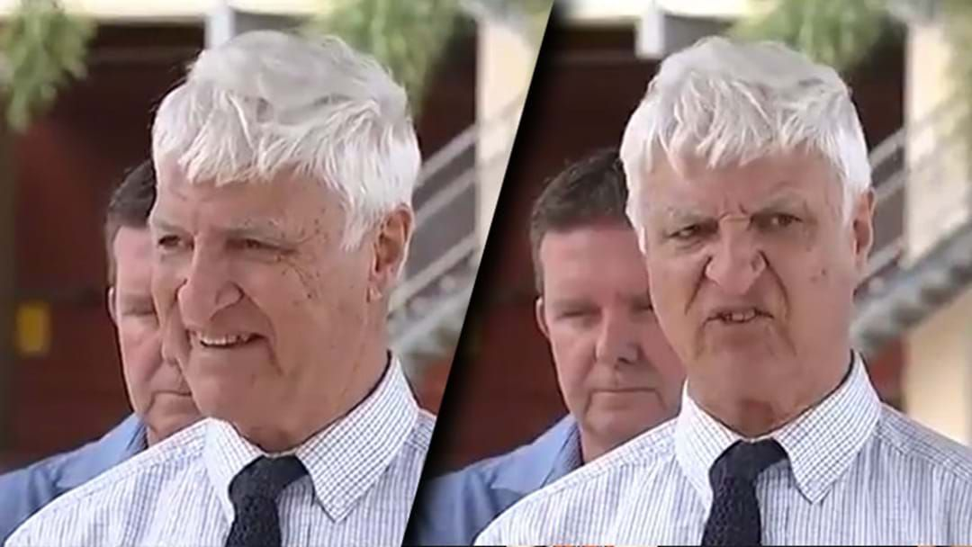 Article heading image for Bob Katter's Rant About Same Sex Marriage And Crocodile Attacks Is Going Viral