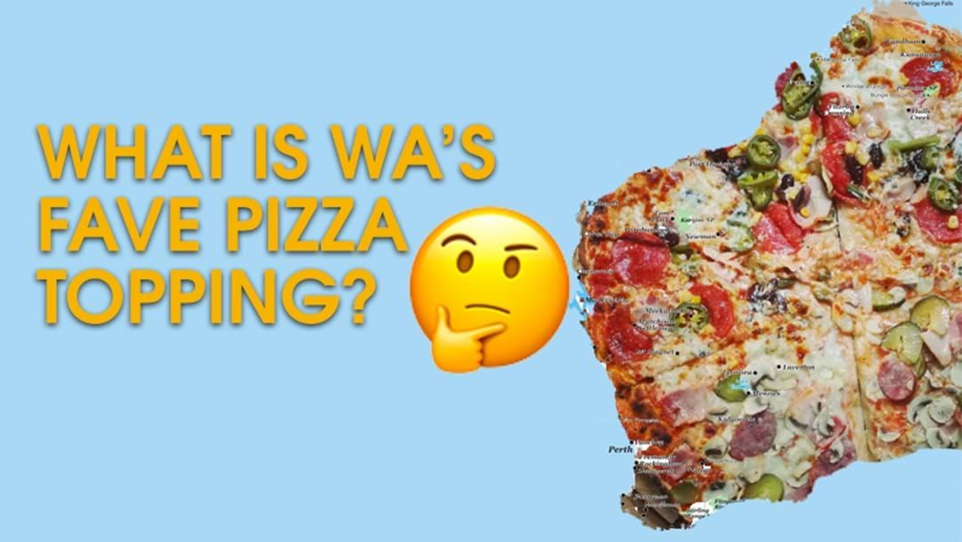 Article heading image for WA's Fave Pizza Topping Revealed Ahead Of World Pizza Day