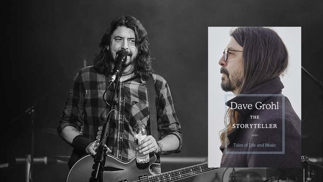 Article heading image for Dave Grohl Finally Announces Details For First Book