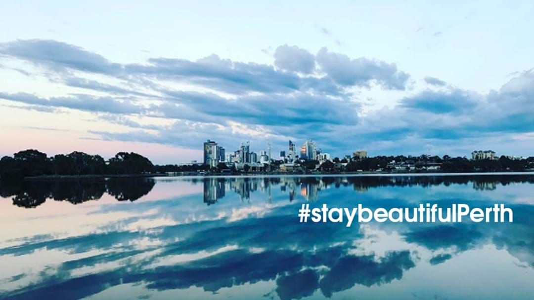Article heading image for Perth Jogger Captures Stunning Shot Of Swan River