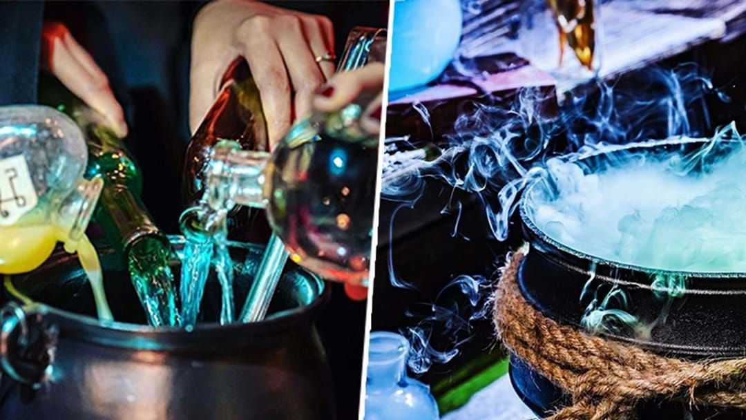 Article heading image for Unlock Your Inner Wizard At This Magic Pop-Up Cocktail Making Event
