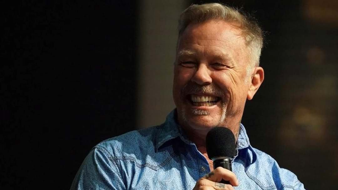 Article heading image for James Hetfield Talks About The Future Of Metallica At First Public Appearance Since Returning To Rehab