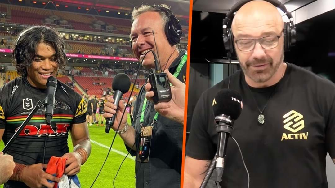 Article heading image for Brian To'o & Mark Geyer's Hilarious Post Grand Final Interview
