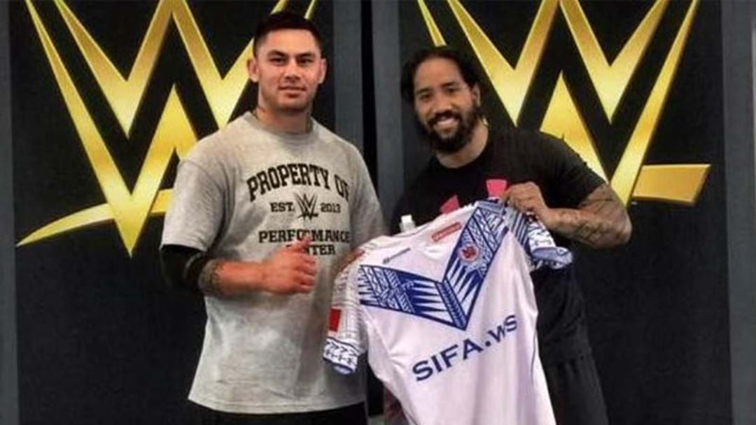 Article heading image for Daniel Vidot Confirms To Triple M He Has Officially Signed With WWE